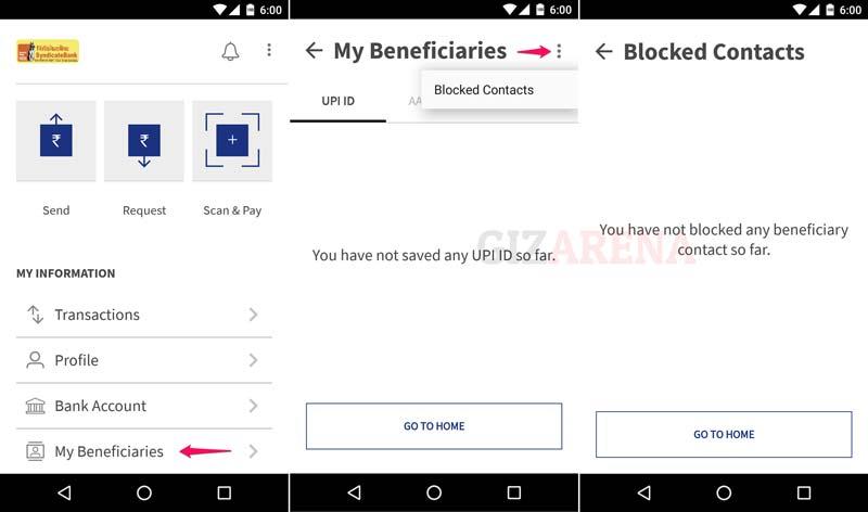 BHIM-Unblock User