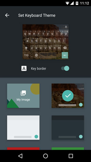 How to Change Google Keyboard Themes on Your Smartphone ?
