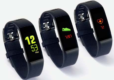 GOQii Fitness Tracker 3