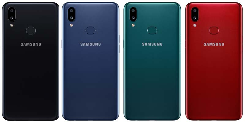 Samsung Galaxy A10s Colors