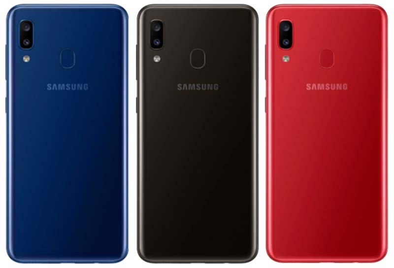 Samsung Galaxy A20 Colors