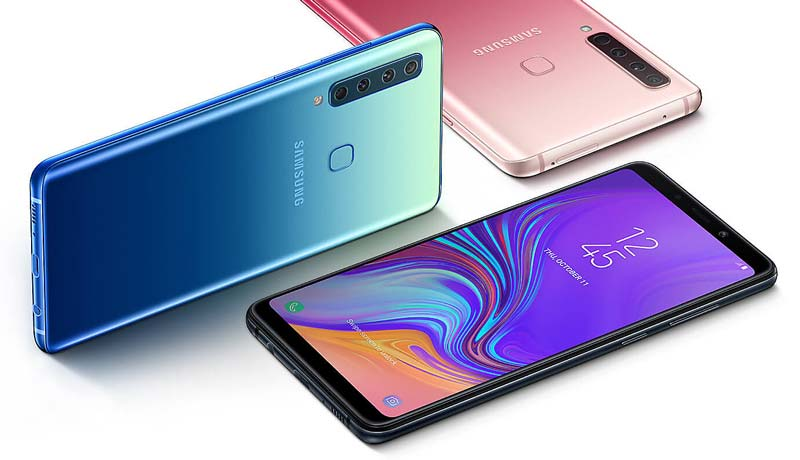 Samsung Galaxy A9 2018 Colors