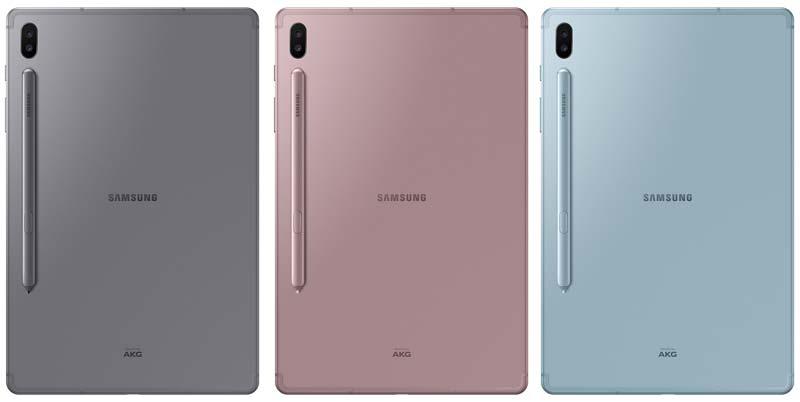 Samsung Galaxy Tab S6 Colors