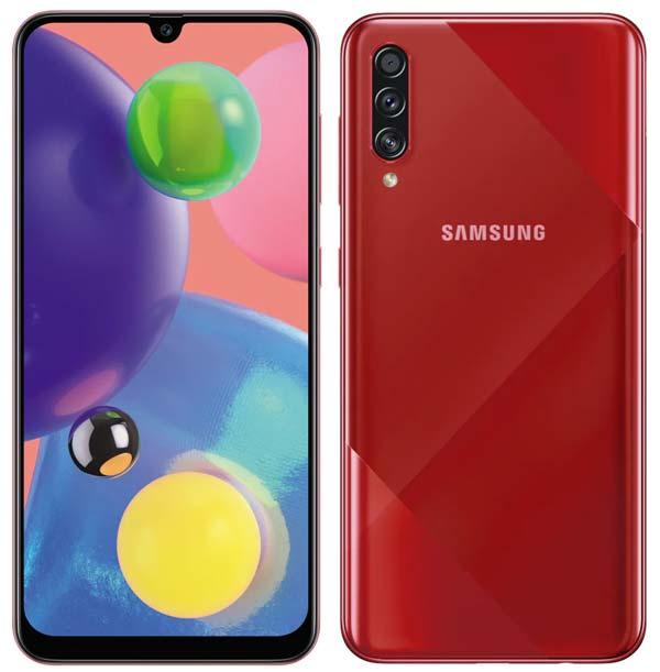 Samsung Galaxy A70s Red