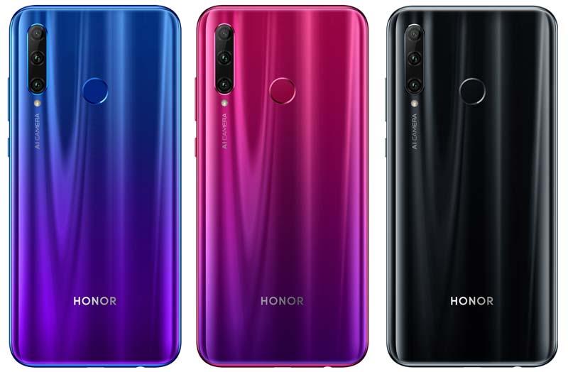 Honor 20i Colors