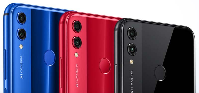 Honor 8X Colors