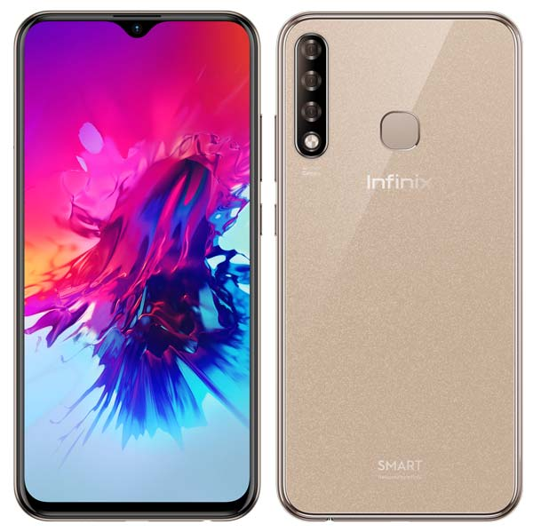 Infinix Smart 3 Plus - Mocha Brown