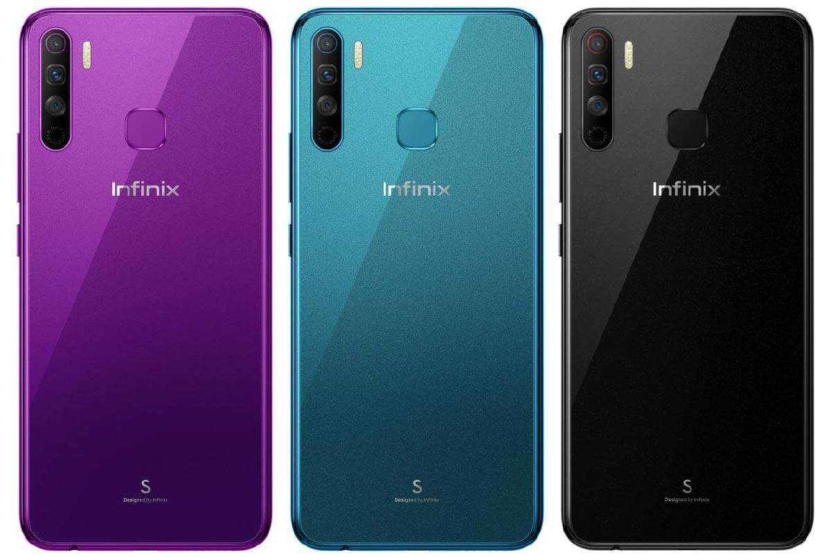 Infinix S5 Lite Colors