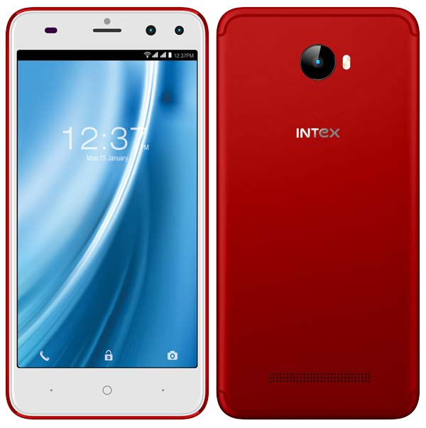 Intex ELYT Dual Royal Red Limited Edition Launched in India at ₹6,999