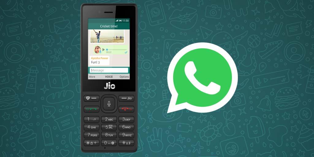 JioPhone WhatsApp