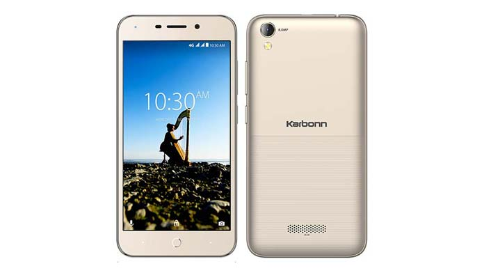 Karbonn K9 Music 4G with 5″ Display, 8MP Rear Camera, 4G VoLTE Launched in India at ₹4,990