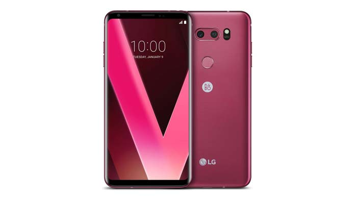 LG Announces Raspberry Rose V30. Available after CES 2018