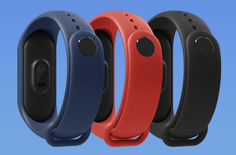 Mi Band 3 Strap Colors