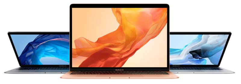 MacBook Air Retina Colors