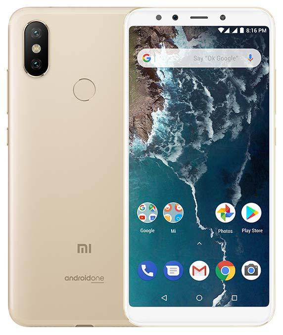 Xiaomi Mi A2 India Gold