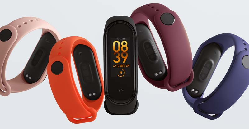 Mi Band 4 Colors