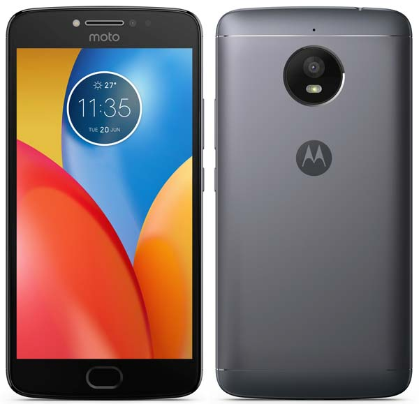 Moto E4 Plus Grey
