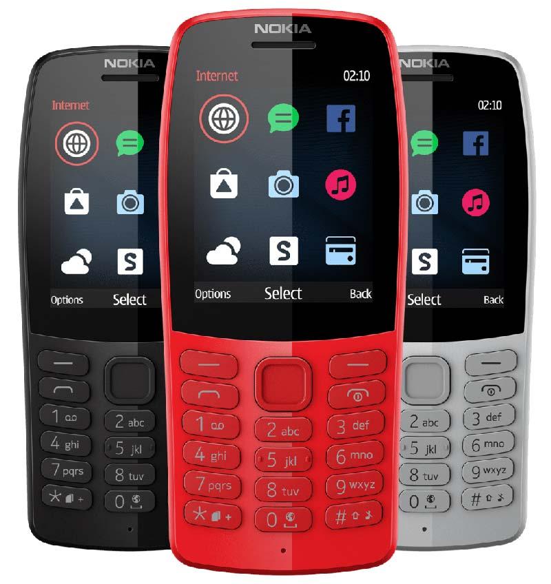 Nokia 210 Colors