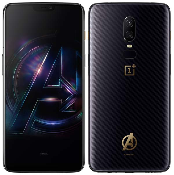 info for 77470 f2bd1 OnePlus 6 Marvel Avengers Limited Edition Launched at ₹44,999