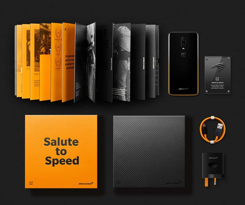 OnePlus 6T McLaren Edition Package
