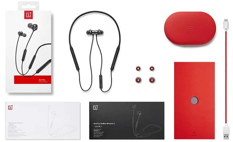 OnePlus Bullets Wireless 2 Package