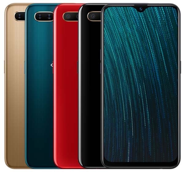 Oppo A5s Colors