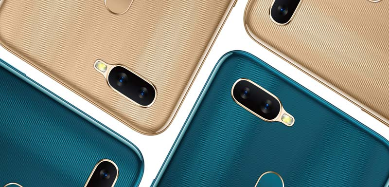 Oppo A7 Colors
