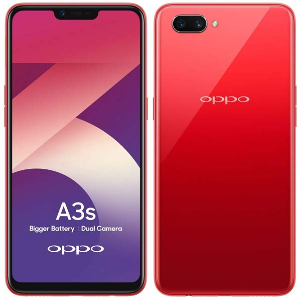 Oppo A3s: Price in India, Features, Availability, and Speifications