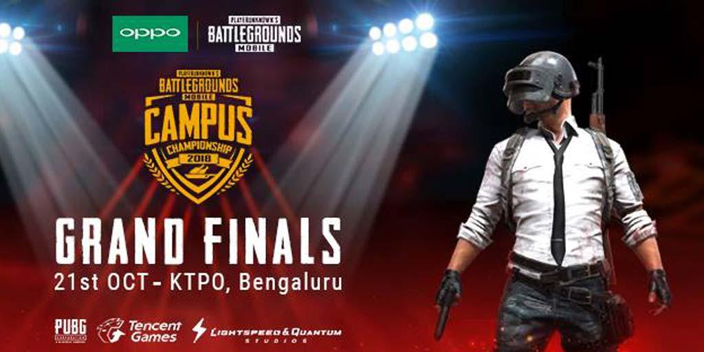 PUBG Final Bangalore