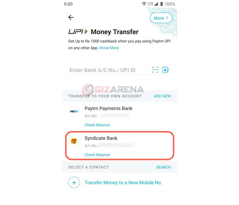 Quickest Way to Transfer Money to Paytm from Your Bank Account