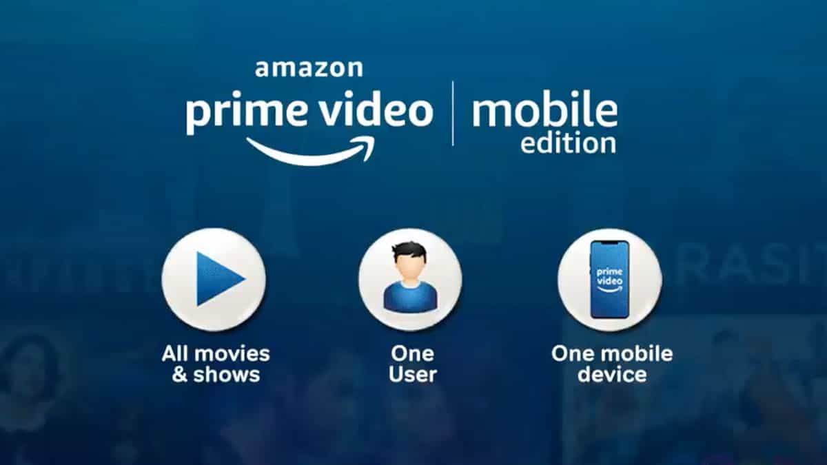 Amazon Launches Prime Video Mobile Edition in India at an Introductory Price of ₹89