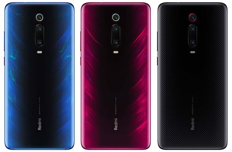 Redmi K20 and K20 Pro Colors