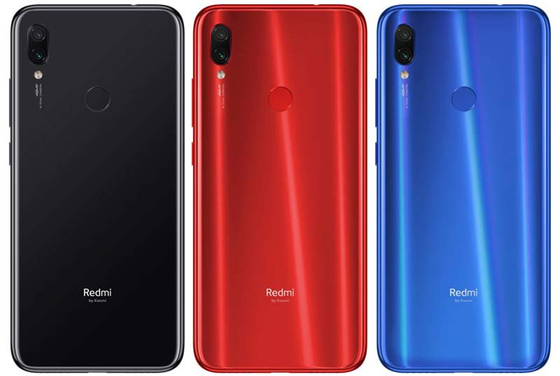 Redmi Note 7s Colors