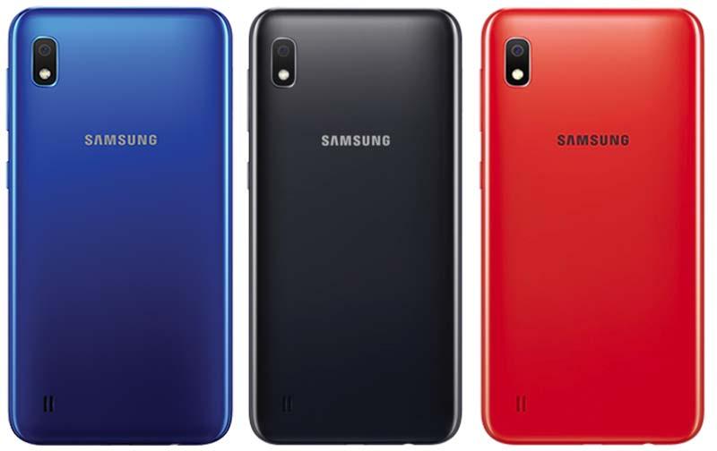 Galaxy A10 Colors