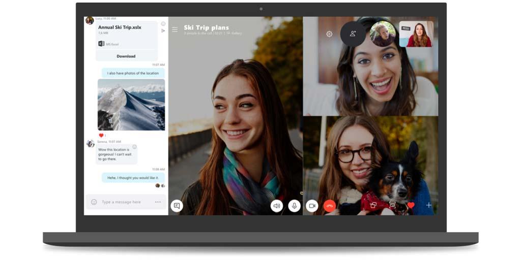 Skype Latest Version - Skype 8.0