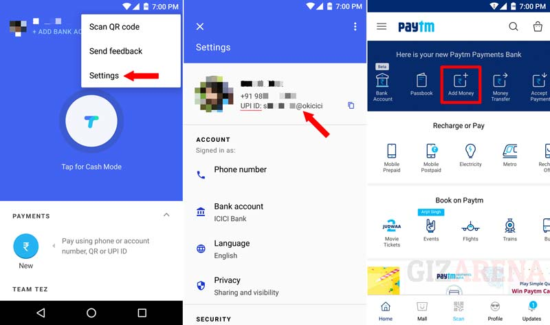 How to Add Money to Paytm Wallet Using Google Tez App?