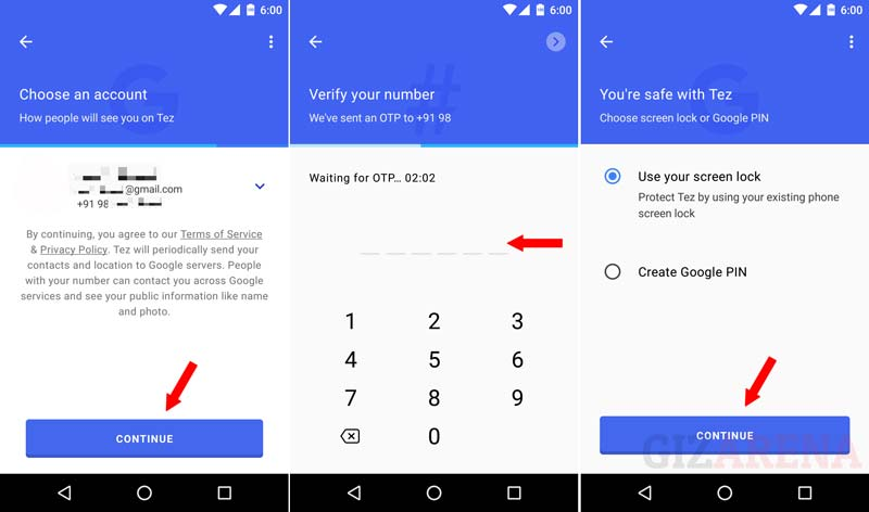 Google Tez App FAQ - How to Setup Tez App