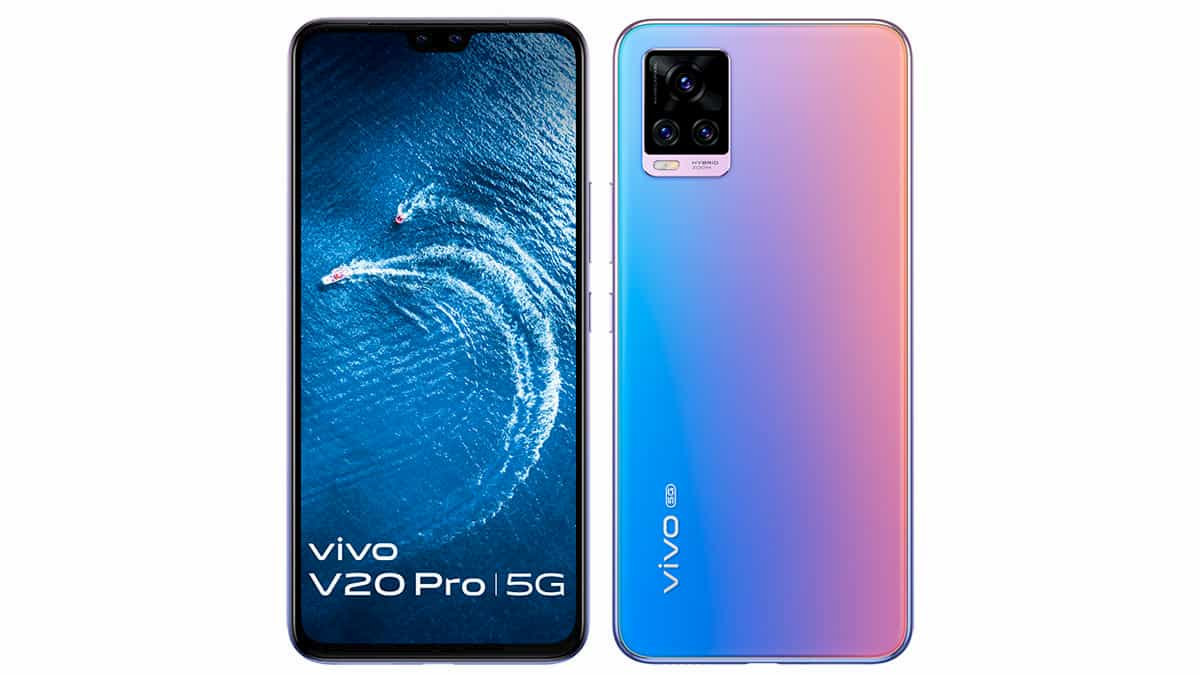 Vivo V20 Pro 5G with 44MP Dual Selfie Camera, 64MP Triple Camera, 8GB RAM Launched at ₹29,990