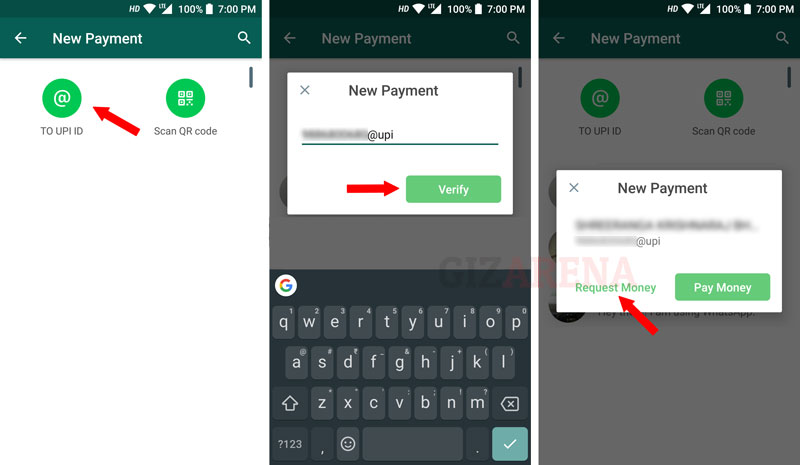 How to Request Money Using WhatsApp