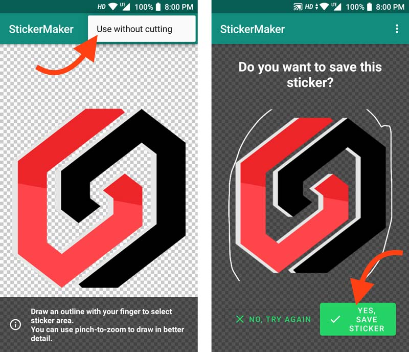 Create WhatsApp Stickers