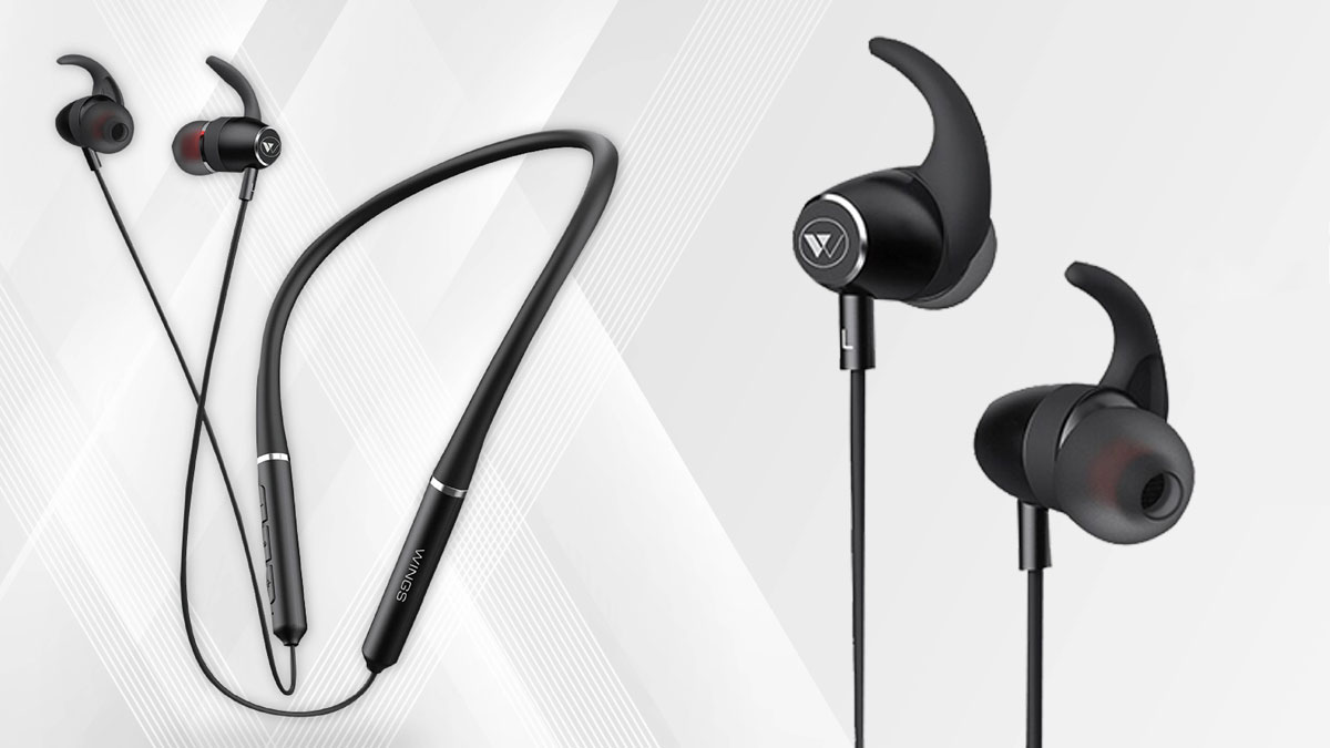 Wings Elevate Neckband Earbuds with Neodymium Drivers, Fast Charging Launched at ₹1,399