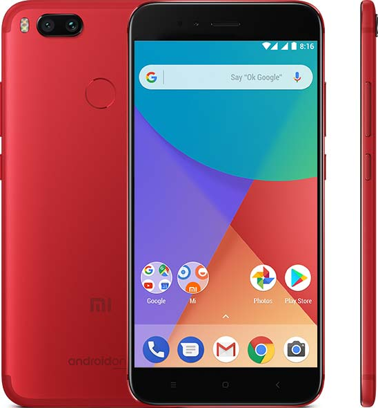 Xiaomi Mi A1 Special Edition Red Color Variant Launched in India