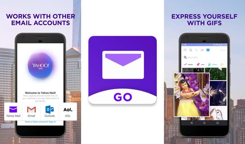 Yahoo Mail Go App